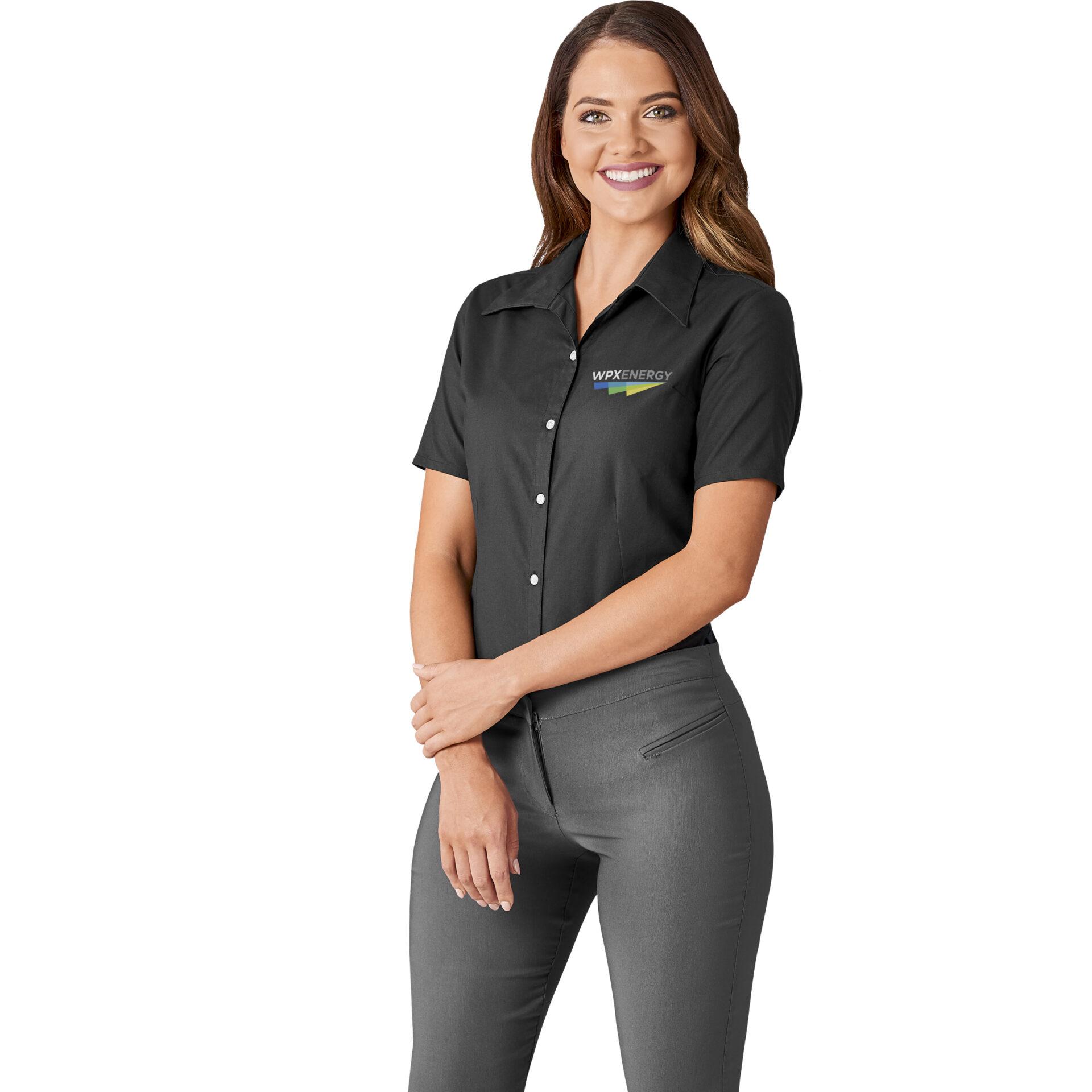 Ladies Short Sleeve Aspen Shirt