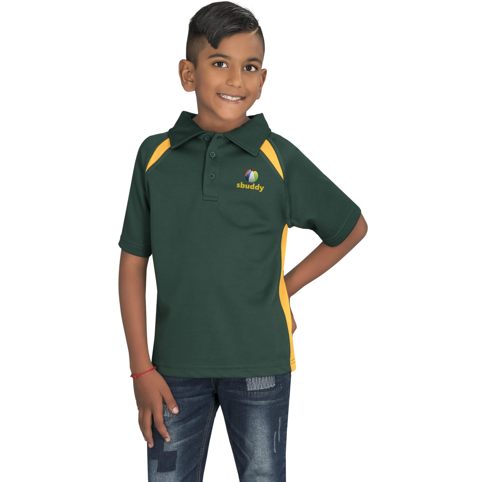 Kids Splice Golf Shirt