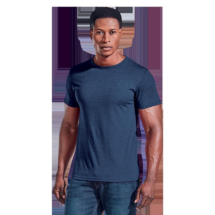 Mens Melange Crew Neck T-Shirt