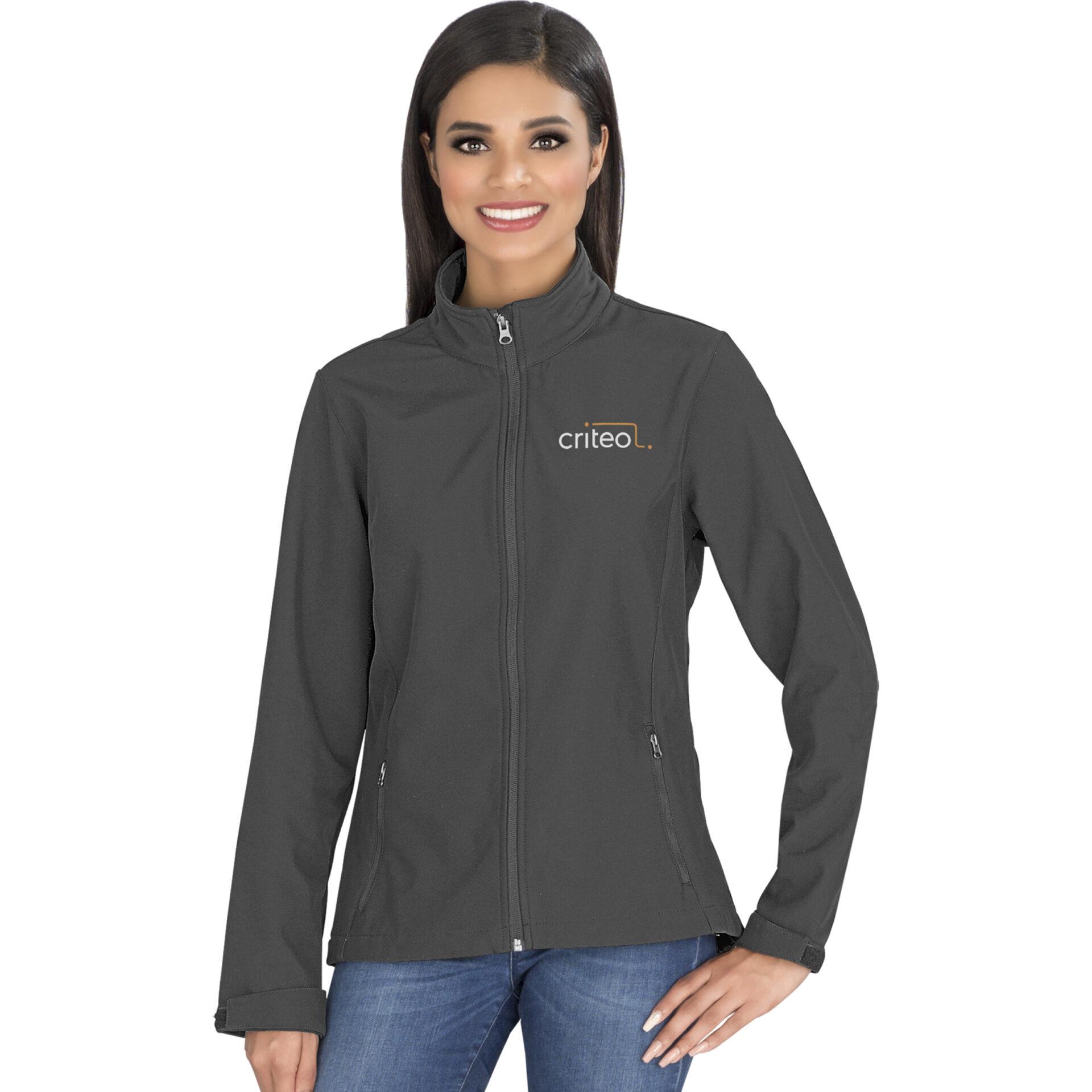 Ladies Pinnacle Softshell Jacket